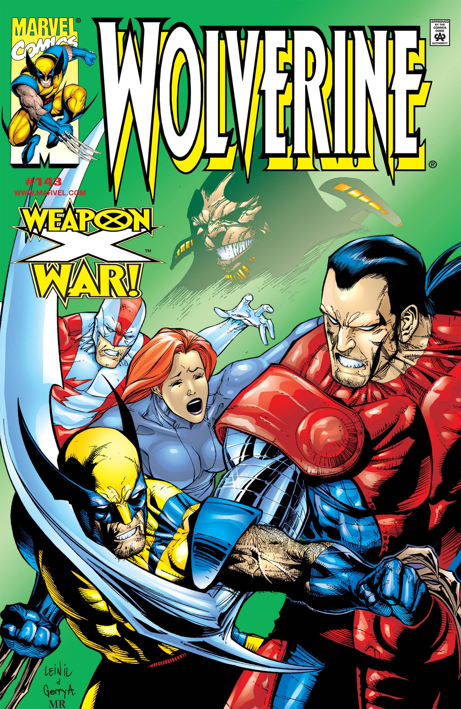 Wolverine (1988) #143