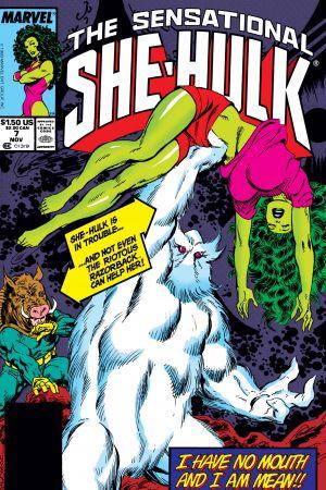 Sensational She-Hulk (1989) #7