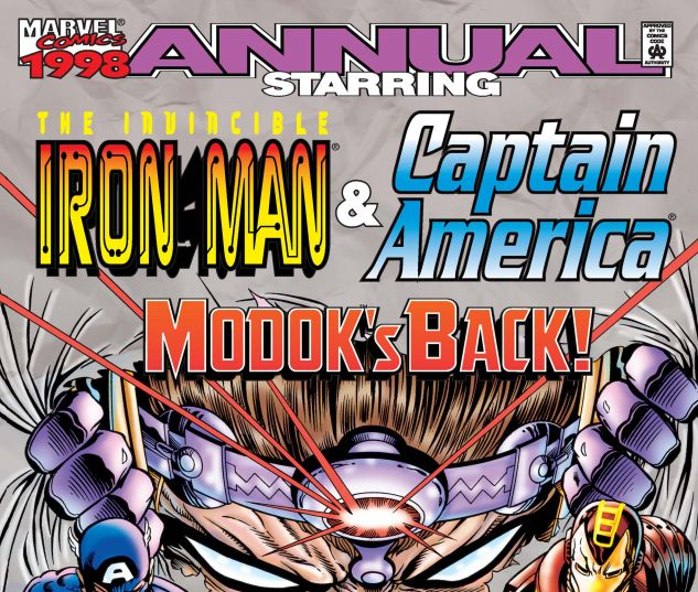 IRON MAN & CAPTAIN AMERICA ANNUAL (1998) #1