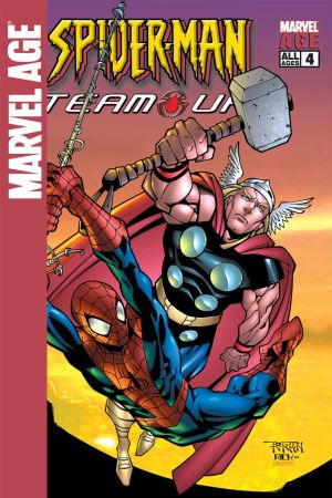 Marvel Age Spider-Man Team-Up #4