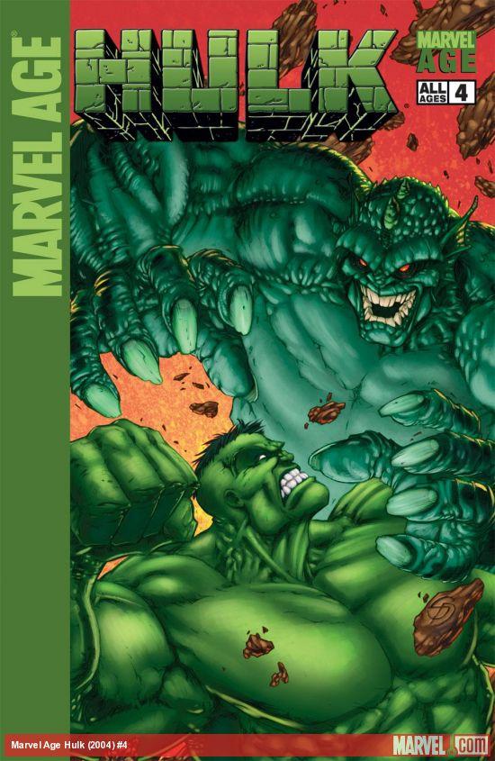 Marvel Age Hulk (2004) #4
