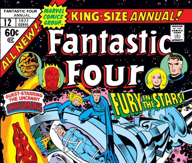 FANTASTIC FOUR ANNUAL (1963) #12