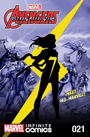 Marvel Universe Avengers: Ultron Revolution (2017) #21
