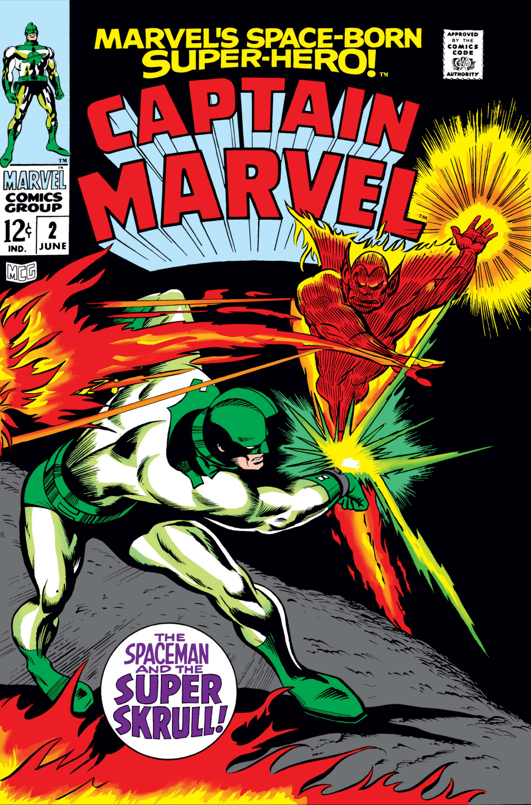 Captain Marvel (1968) #2