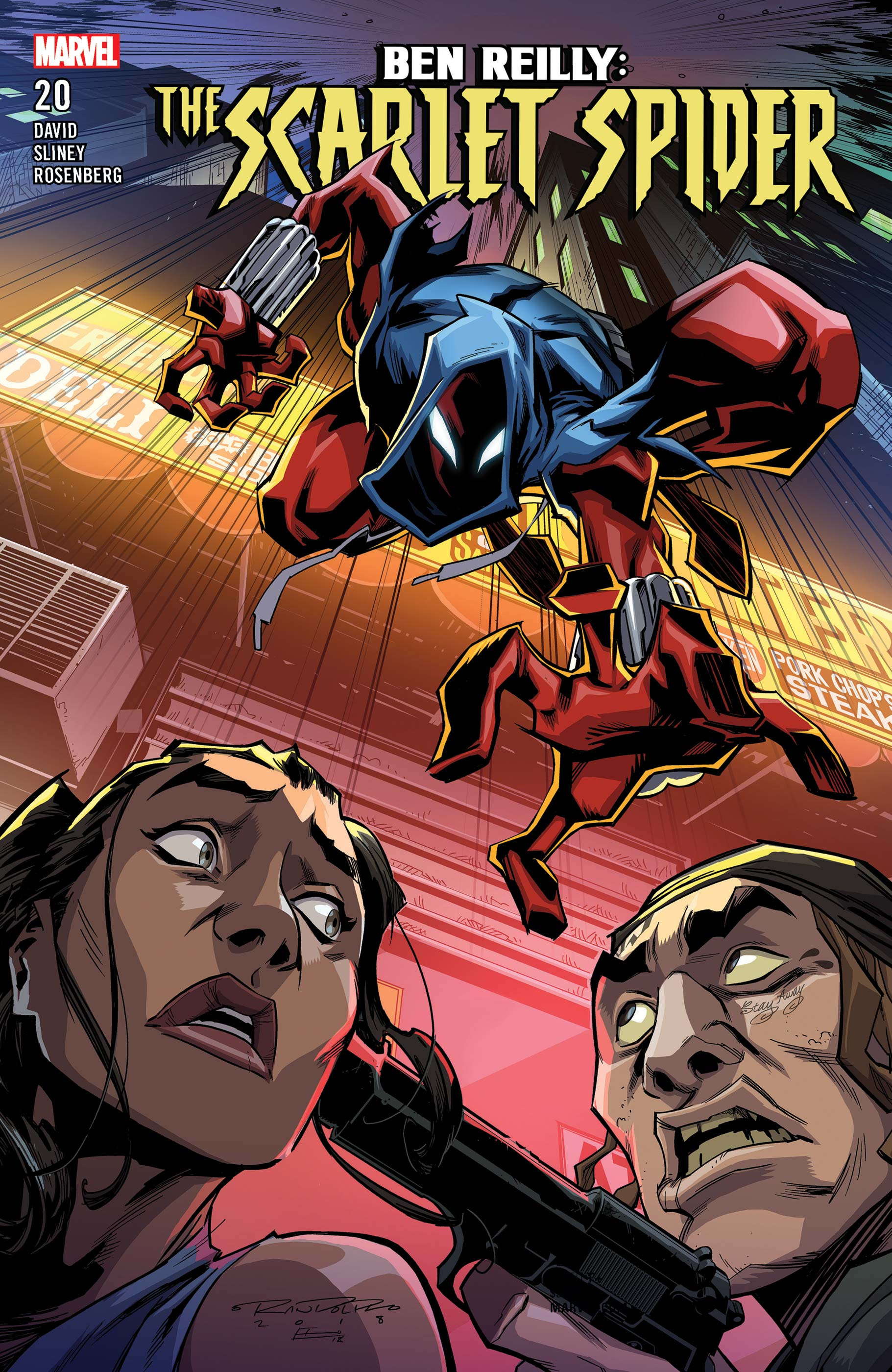 Ben Reilly: Scarlet Spider (2017) #20