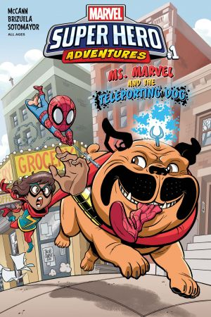 Marvel Super Hero Adventures: Ms. Marvel and the Teleporting Dog #1
