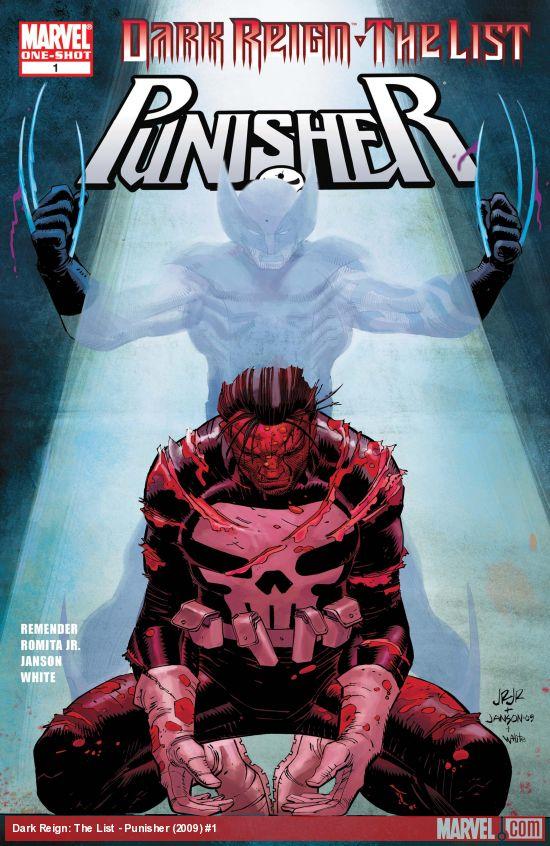 Dark Reign: The List - Punisher (2009) #1