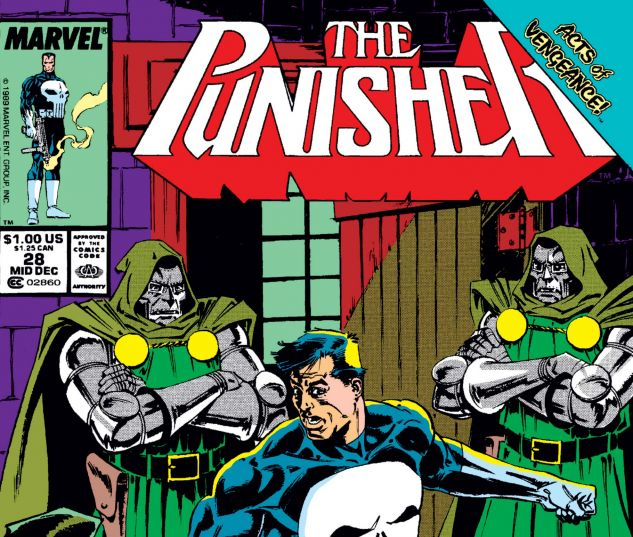 cover from Punisher (1987) #28