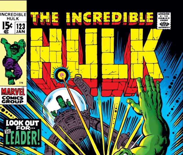 INCREDIBLE HULK (1962) #123