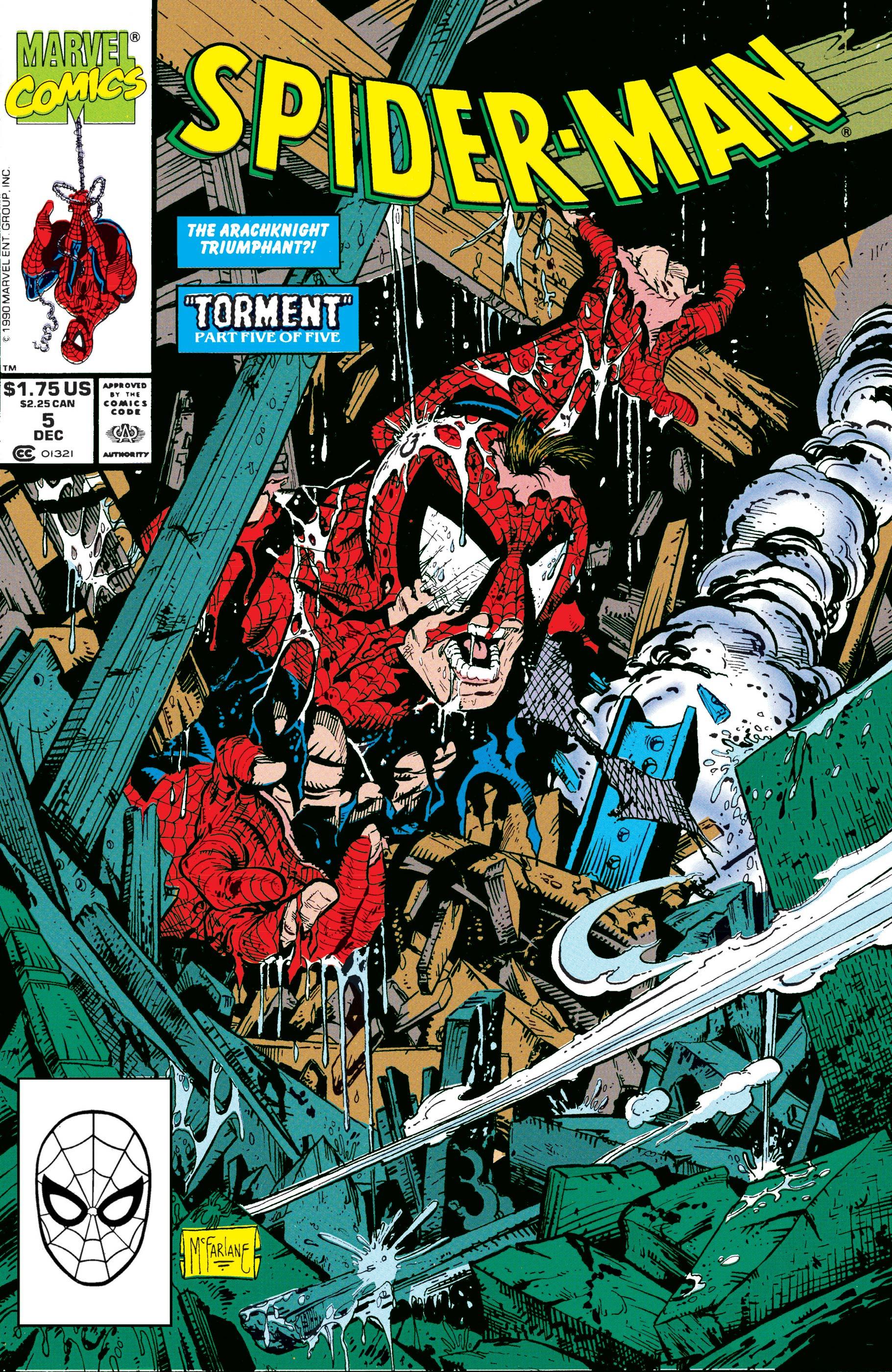 Spider-Man (1990) #5
