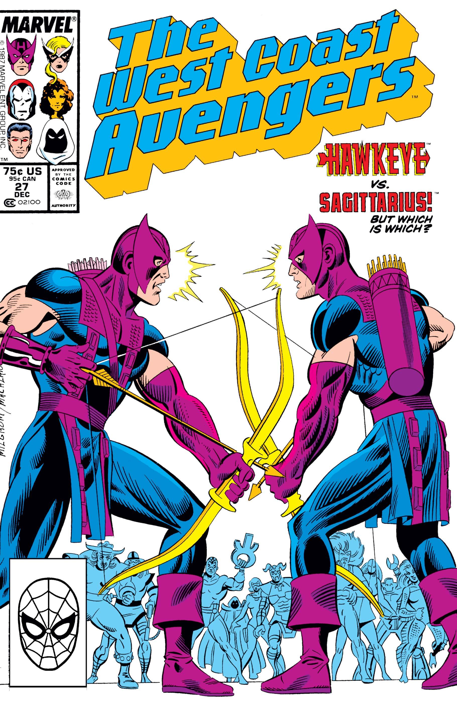 West Coast Avengers (1985) #27