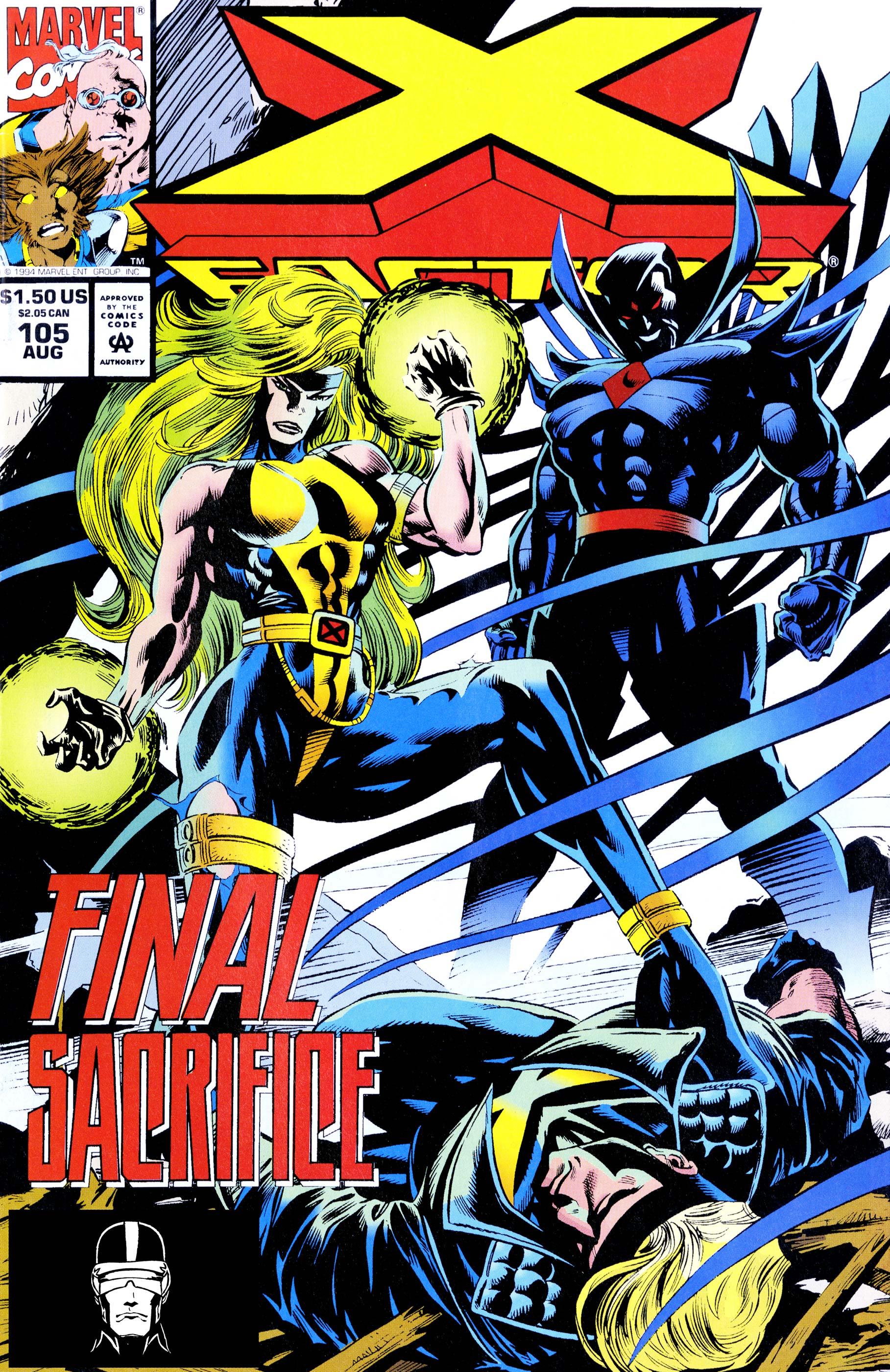X-Factor (1986) #105