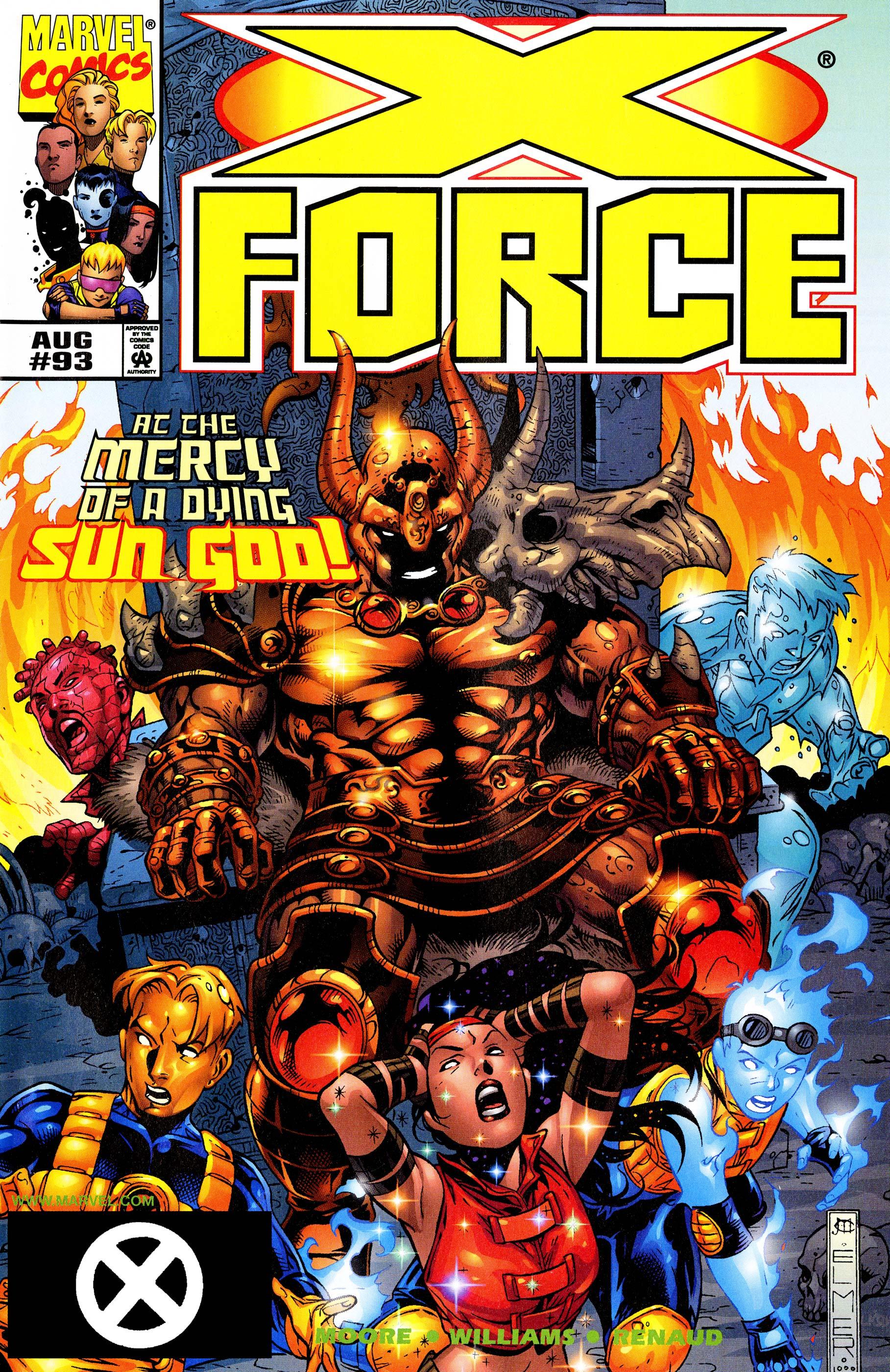 X-Force (1991) #93