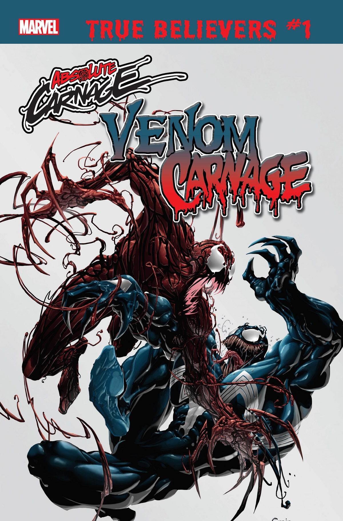 True Believers: Absolute Carnage - Venom Vs. Carnage (2019) #1