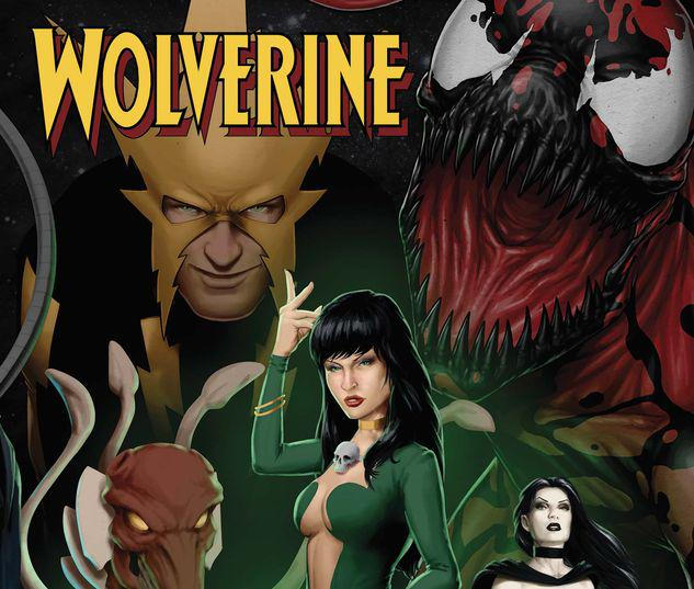 WOLVERINE ANNUAL 1 CHRISTOPHER CONNECTING VARIANT #1