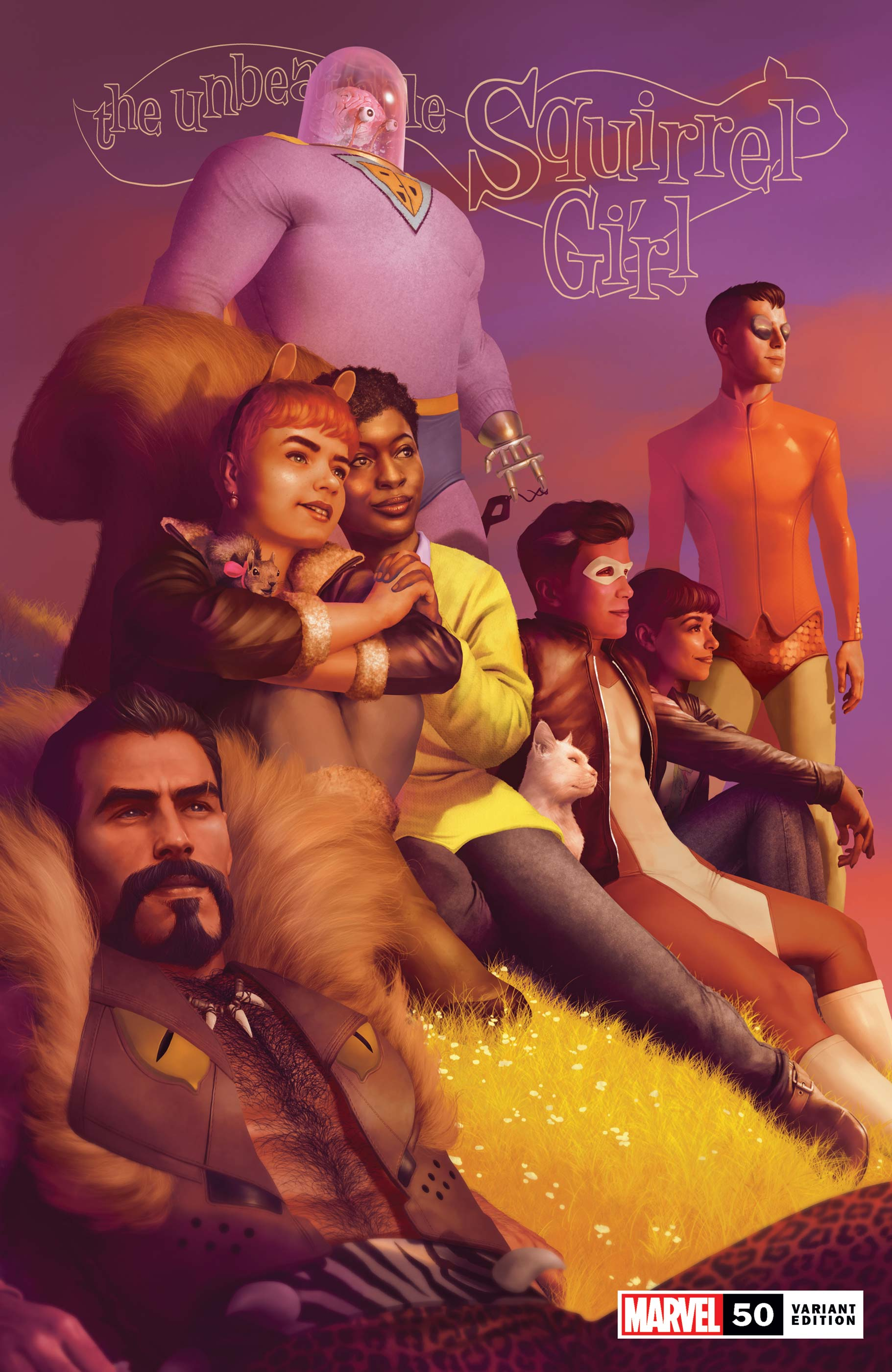 The Unbeatable Squirrel Girl (2015) #50 (Variant)