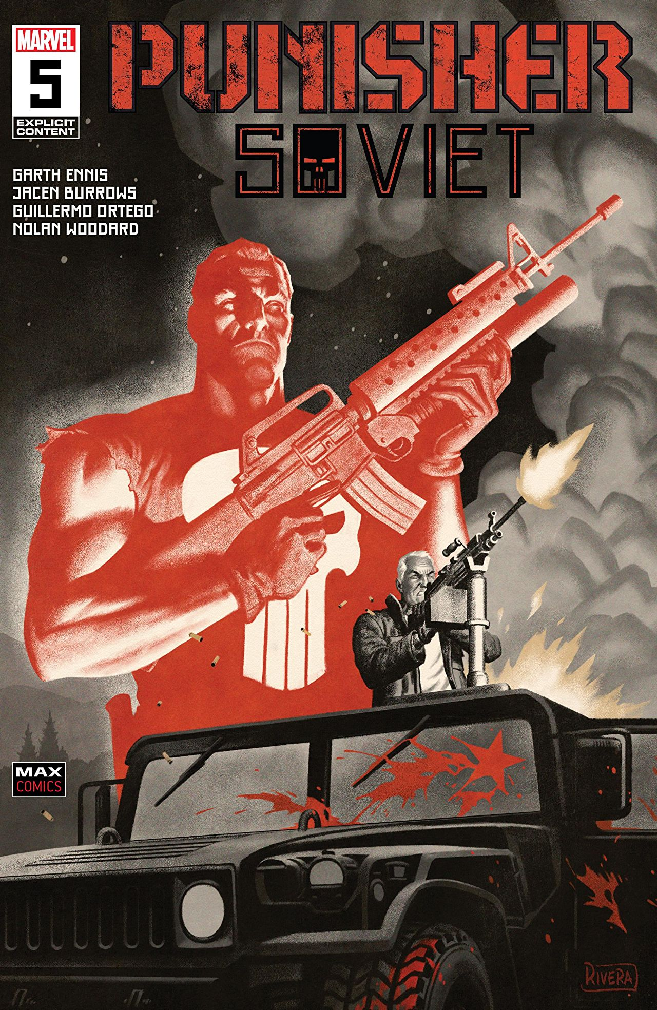 Punisher: Soviet (2019) #5