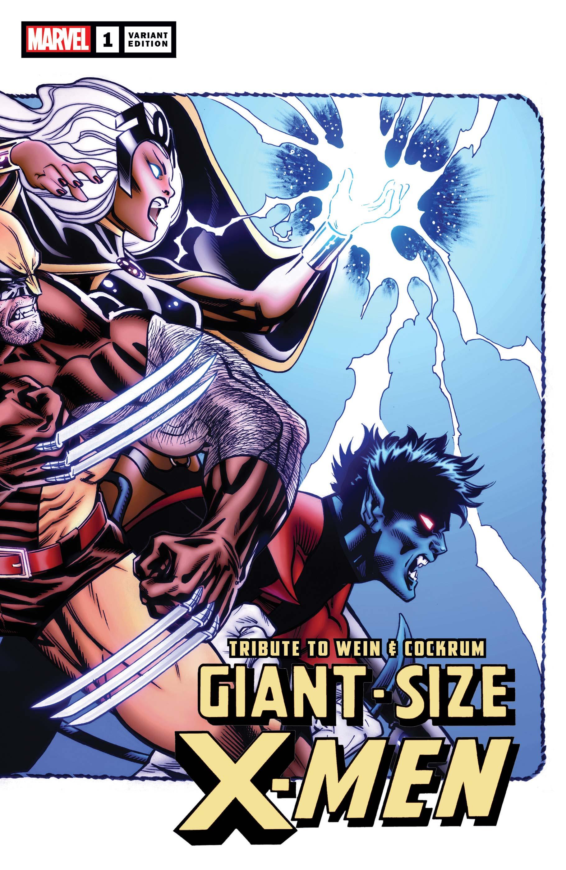 WEIN COCKRUM GIANT-SIZE X-MEN TRIBUTE #1 ADI GRANOV//TRADD MOORE VARIANT SET NM