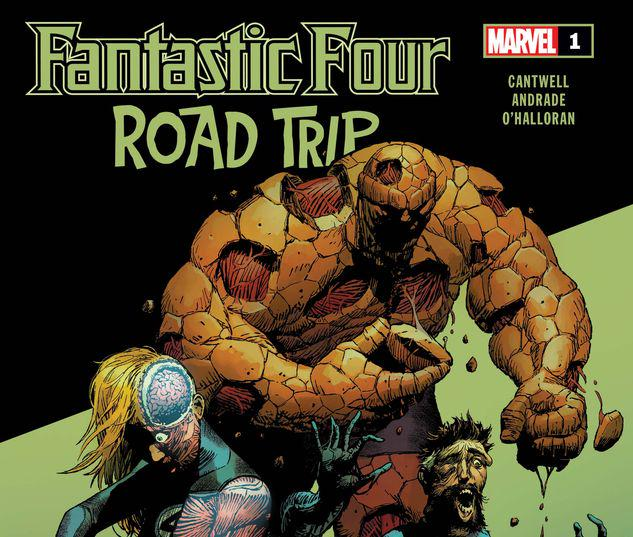FANTASTIC FOUR: ROAD TRIP 1 #1