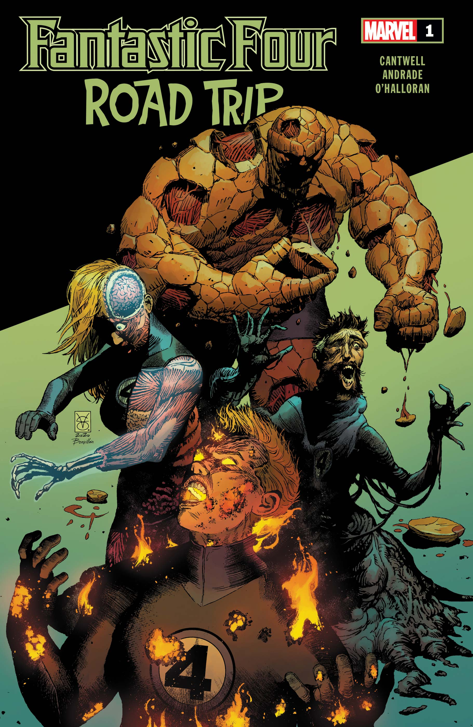 Fantastic Four: Road Trip (2020) #1 | Comic Issues | Marvel