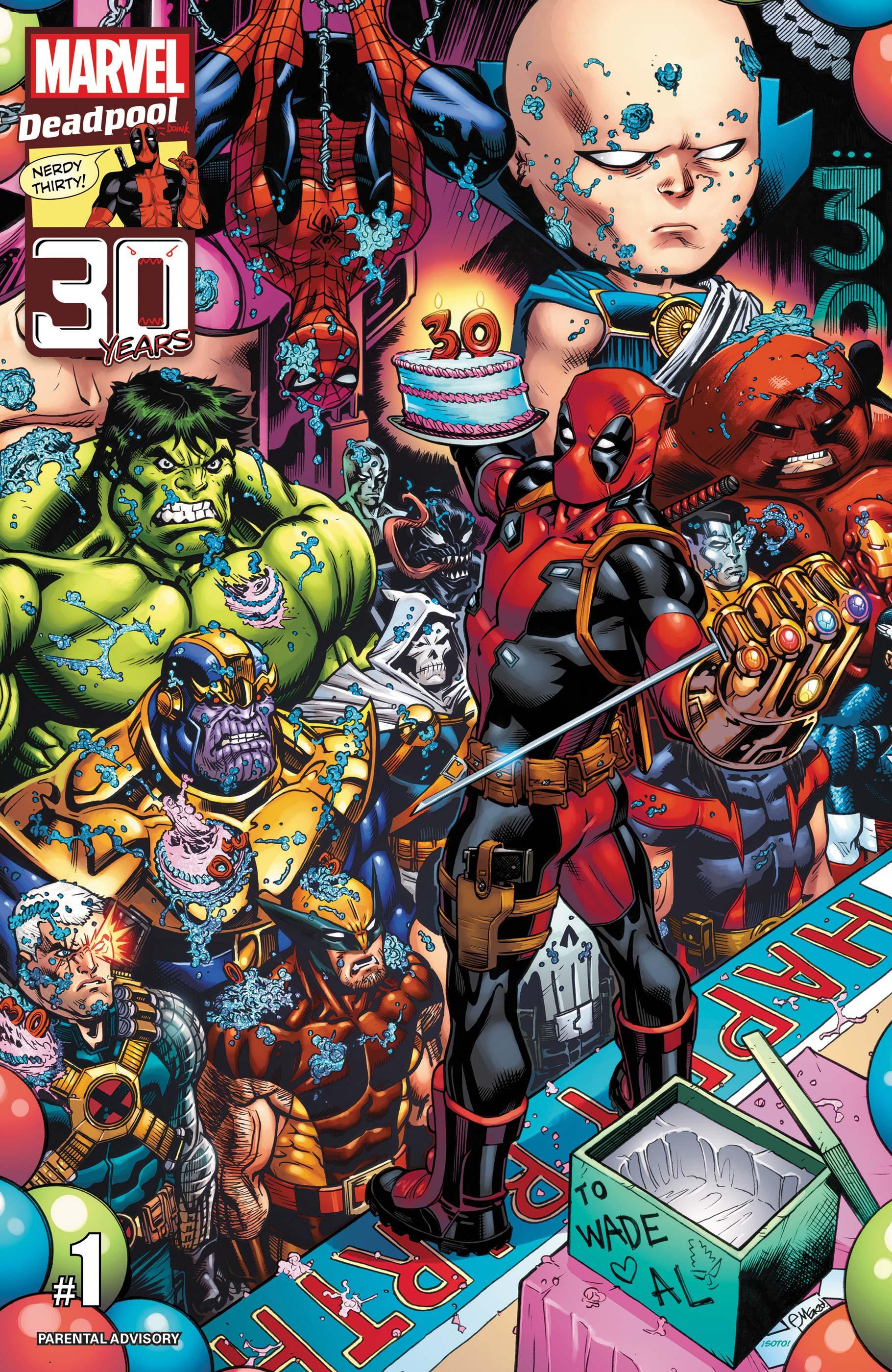Deadpool Nerdy 30 (2021) #1