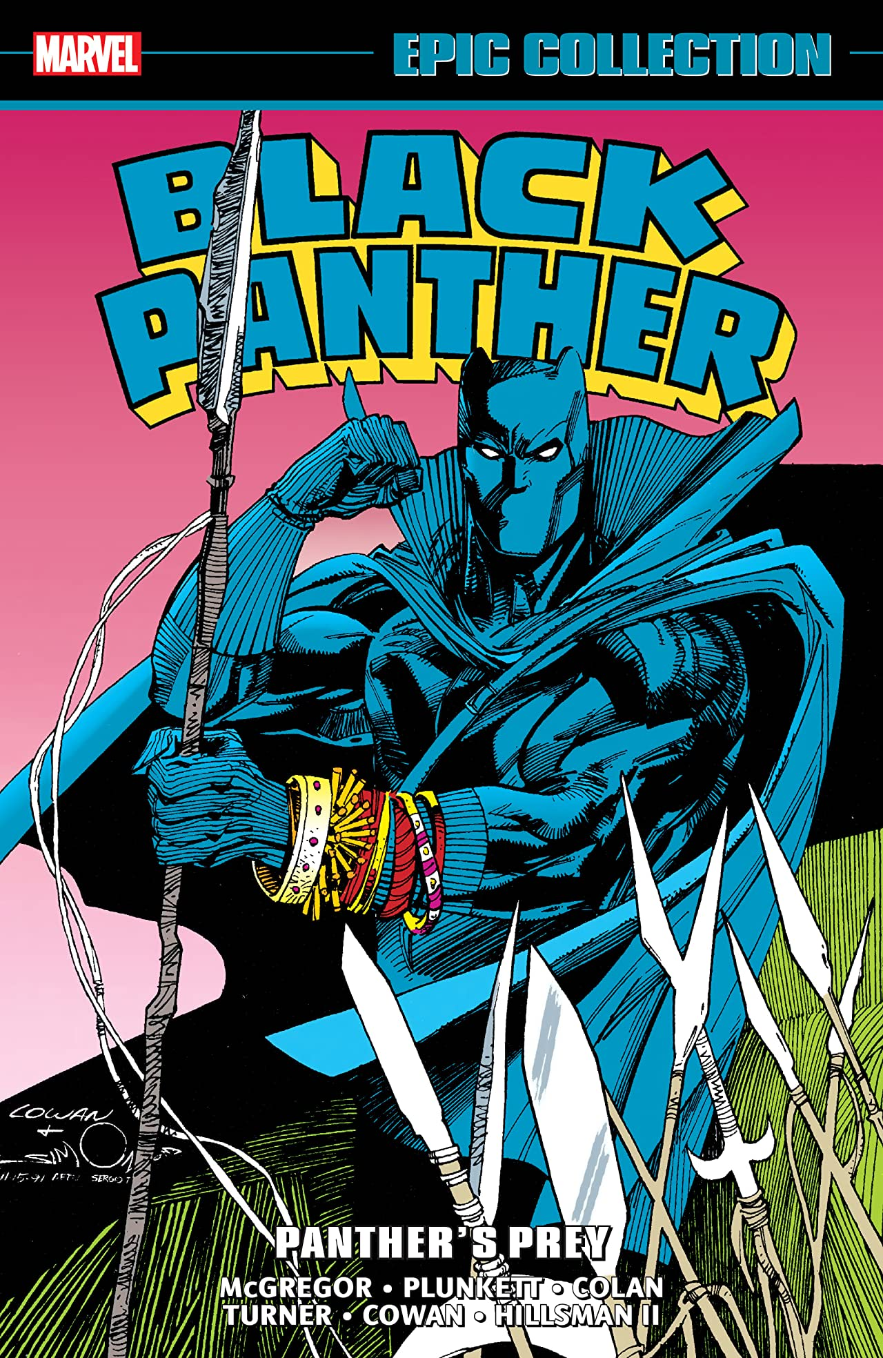 Black Panther Epic Collection: Panther's Prey (Trade Paperback)