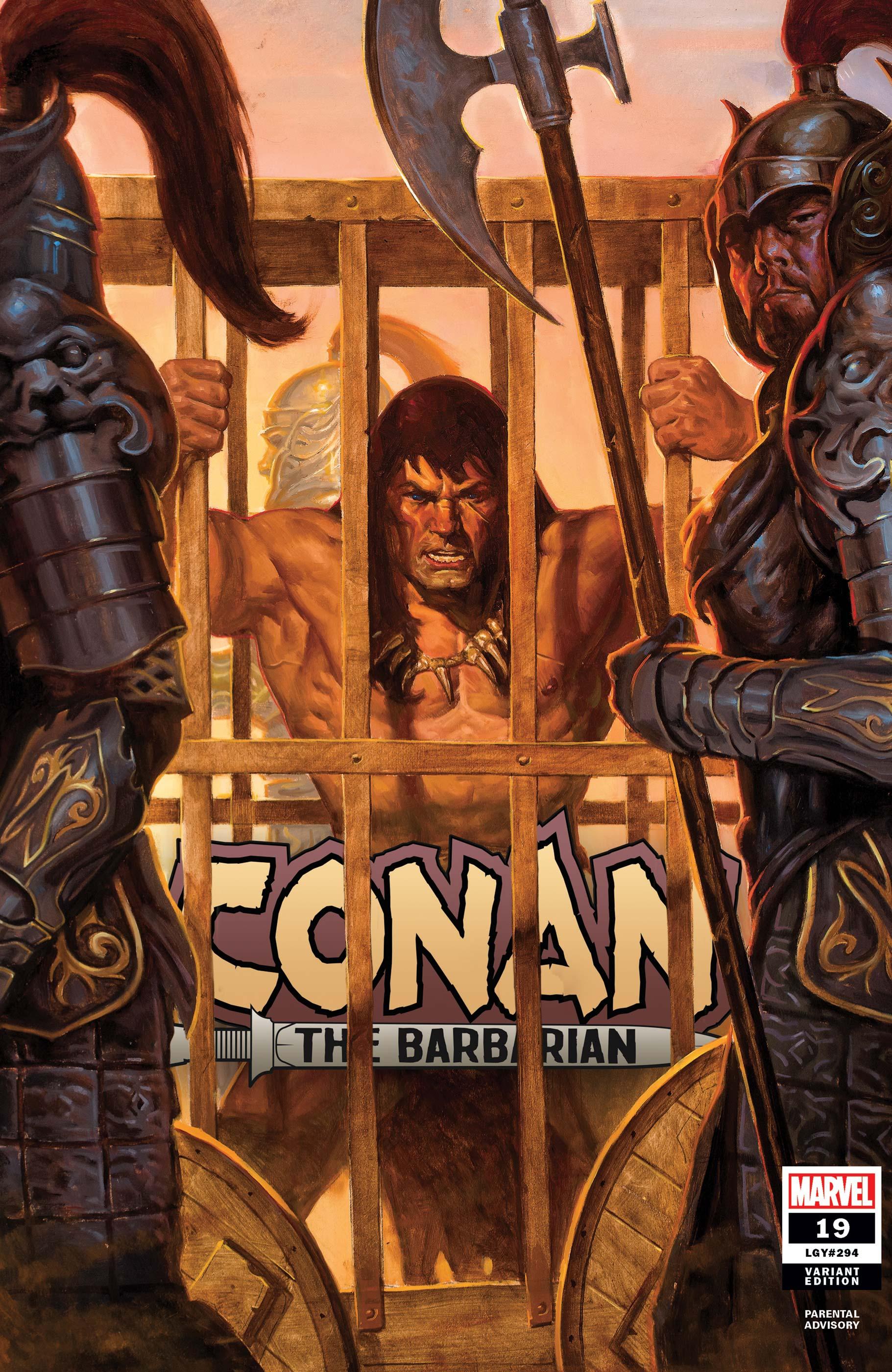 Conan the Barbarian (2019) #19 (Variant)