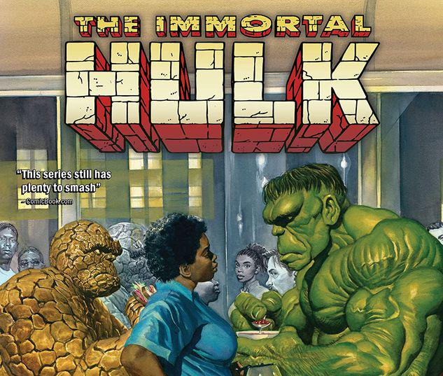 IMMORTAL HULK VOL. 9: THE WEAKEST ONE THERE IS TPB #9