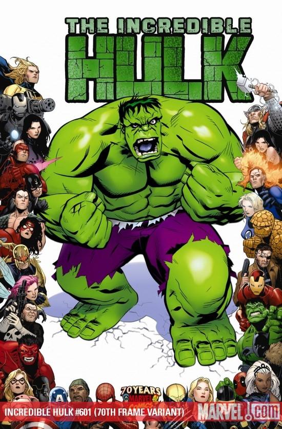 Incredible Hulks (2010) #601 (70TH FRAME VARIANT)