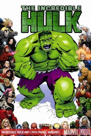 Incredible Hulks #601  (70TH FRAME VARIANT)