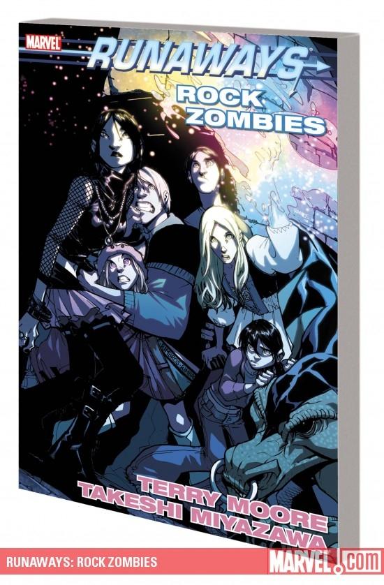 Runaways: Rock Zombies (Trade Paperback)