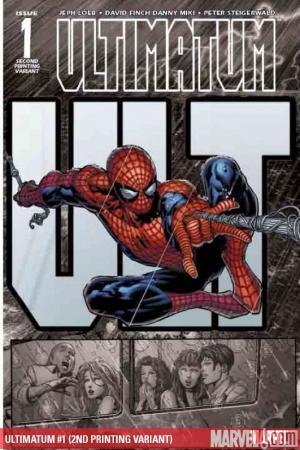 Ultimatum (2008) #1 (2ND PRINTING VARIANT)