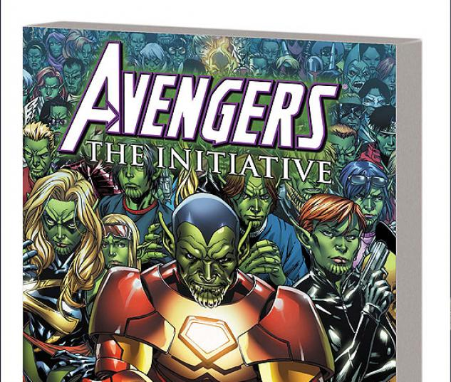 AVENGERS: THE INITIATIVE VOL. 3 - SECRET INVASION TPB #1