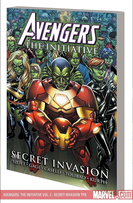 Avengers: The Initiative Vol. 3 - Secret Invasion (Trade Paperback)