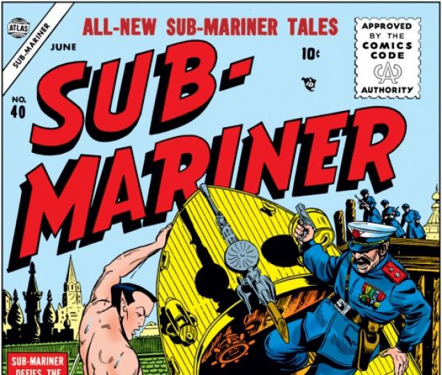 SUB-MARINER COMICS #40