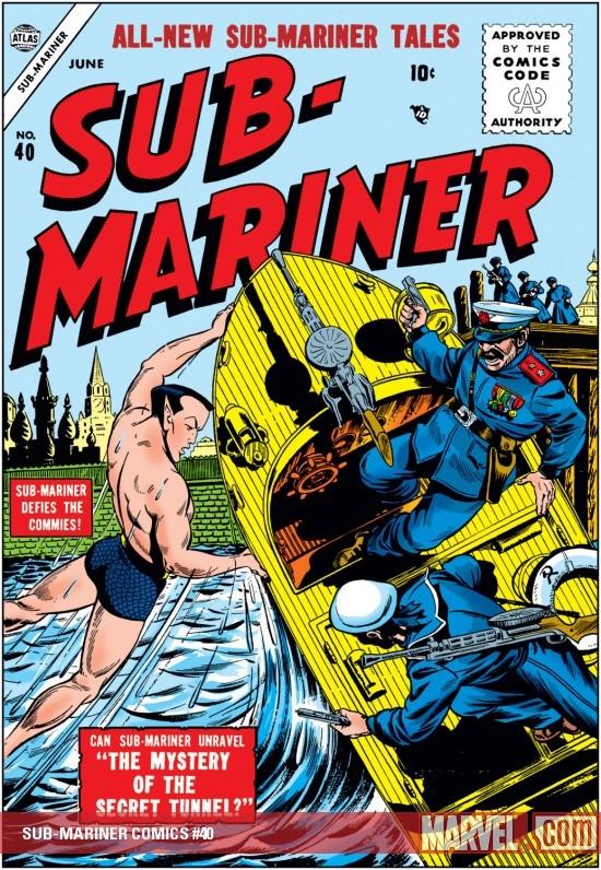 Sub-Mariner Comics (1941) #40