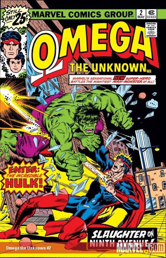 Omega the Unknown (1976) #2