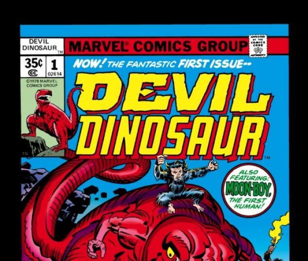 DEVIL DINOSAUR #1 COVER