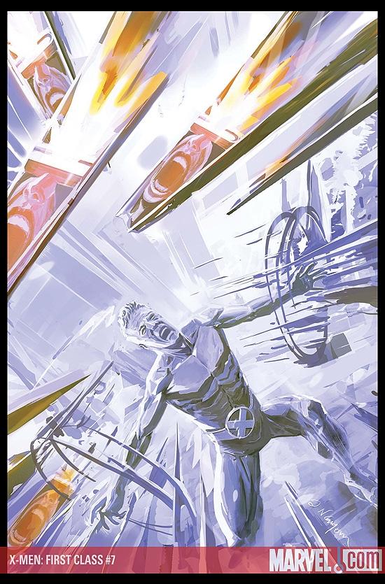 X-Men: First Class (2007) #7