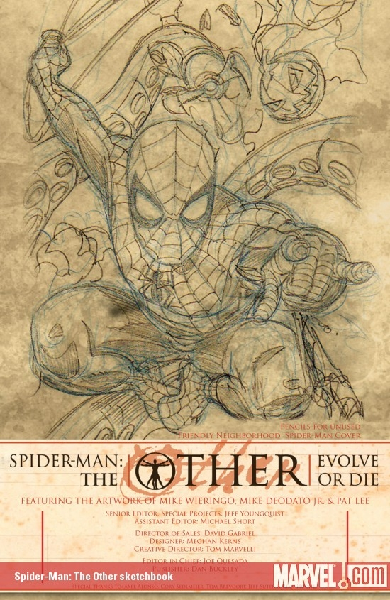 Spider-Man: The Other Sketchbook (2005)
