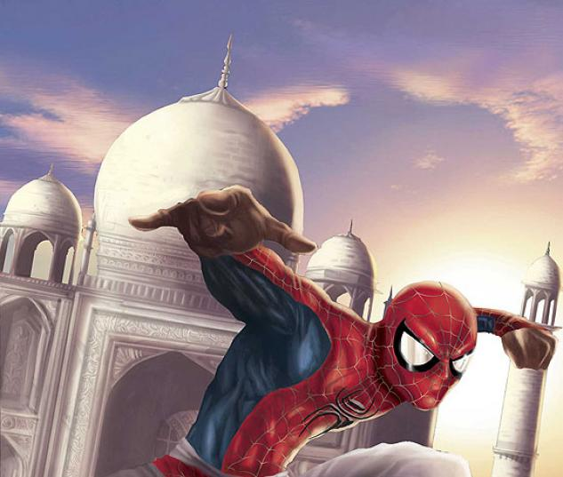 SPIDER-MAN: INDIA (2005) #2 COVER