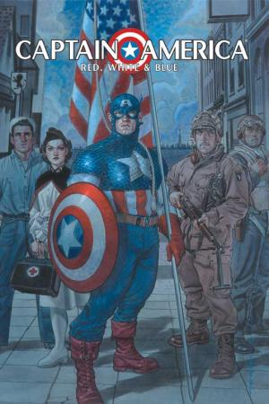 Captain America: Red, White & Blue (Hardcover)