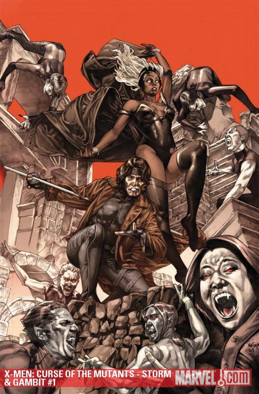 X-Men: Curse of the Mutants - Storm & Gambit (2010) #1