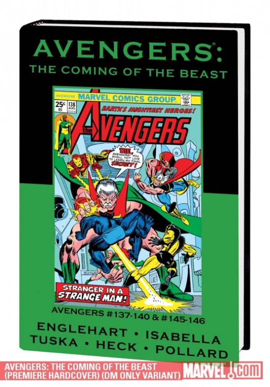 Avengers: The Coming of the Beast (2010) (DM ONLY VARIANT)