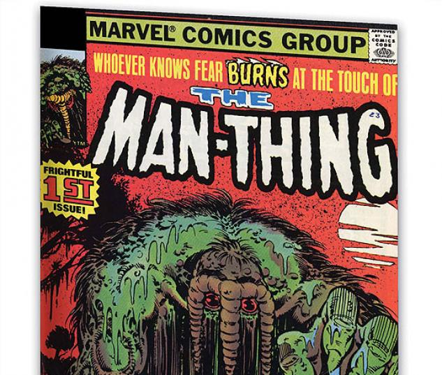 ESSENTIAL MAN-THING VOL. 2 #0