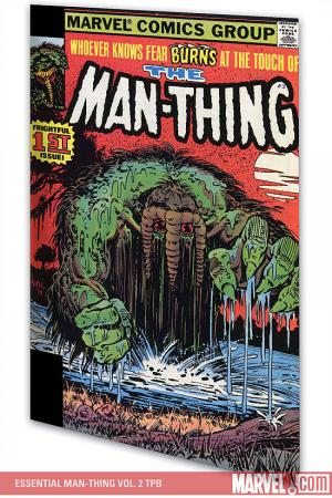 Essential Man-Thing Vol. 2 (Trade Paperback)