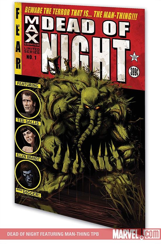 Dead of Night Featuring Man-Thing (Trade Paperback)