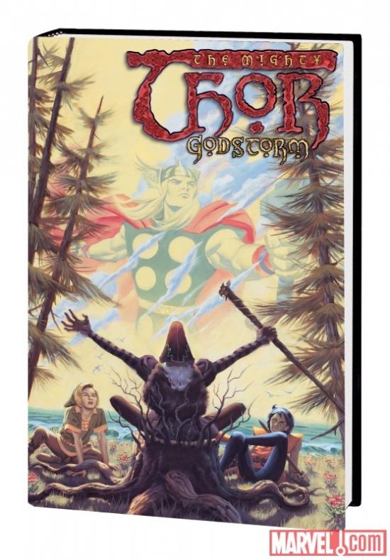Thor: Godstorm (Hardcover)