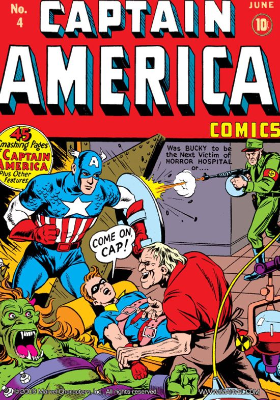 Captain America Comics (1941) #4