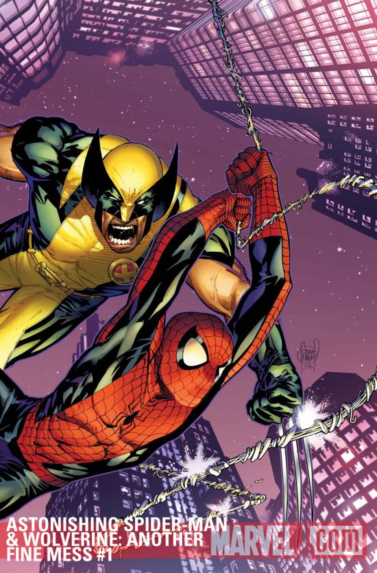 Astonishing Spider-Man & Wolverine: Another Fine Mess (2011) #1
